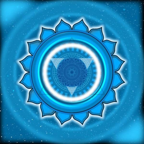 The fifth chakra is Vishuddha